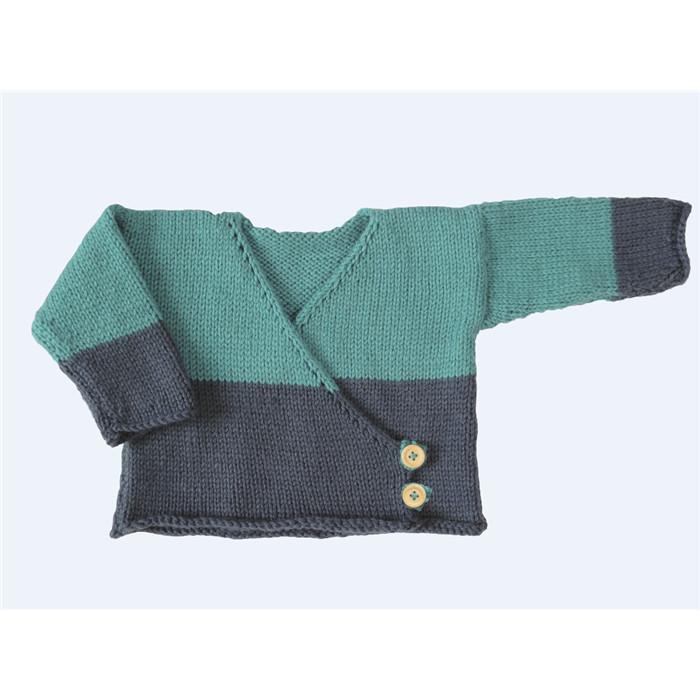 CreacornerCreacorner   Mon petit pull super facile à tricoter!