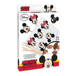 "-Moule sucettes ""mickey & minnie"""