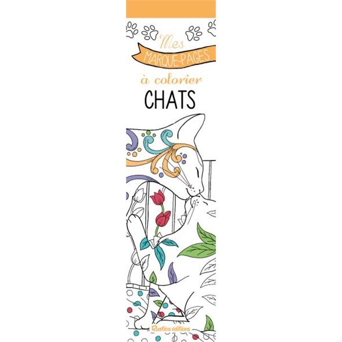 Coloriage Chat Porte Bonheur.54 Marque Pages A Colorier Chats
