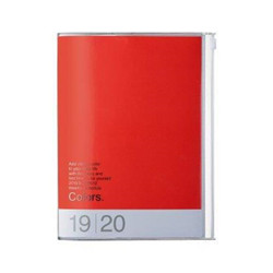 Agenda 2020 A6 Red Pink