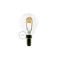 Ampoule E14 LED transparente