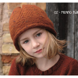 Bonnet Enfant Merino Tweed 2