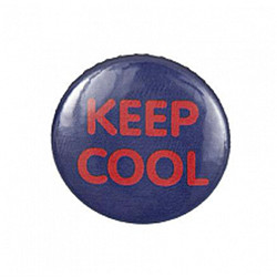Bouton badge keep cool