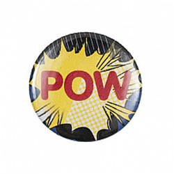 Bouton badge pow