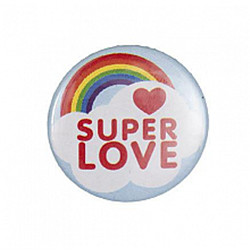 Bouton badge super love