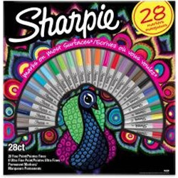 "Box 28 Sharpie ""paon"""