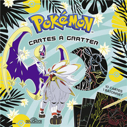 "Cartes à gratter ""Pokemon"""