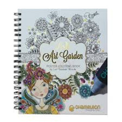 Chameleon Color Book Lori'S Art Garden