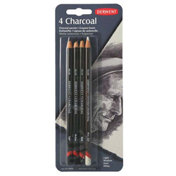 Charcoal pencil (4) blister