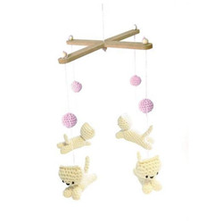 Coffret crochet mobile chatons
