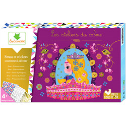 Courrones princesses - Strass & stickers