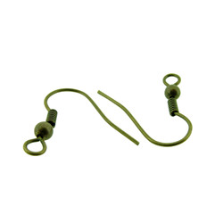 Crochet D'Oreille Bronze