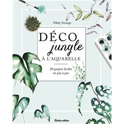 Déco jungle à l'aquarelle
