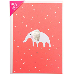 Diy carte, bebe, elephant