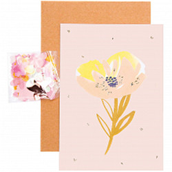 Diy carte, crafted nature,rose