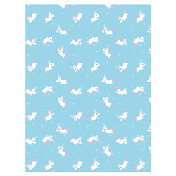 Feuille decopatch licorne