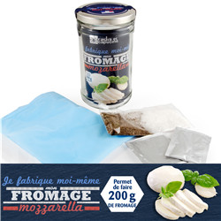 Fromage mozzarella BIO - Bocal 1L