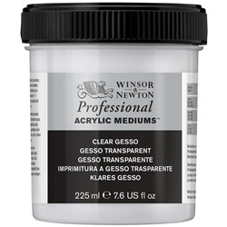 Gesso acrylique transparent 225 ml