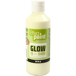 Glow in the dark, 250 ml, vert/jaune