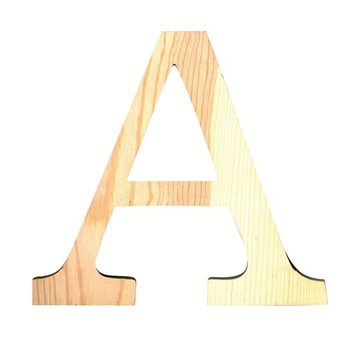 creacorner grande lettre en bois i. Black Bedroom Furniture Sets. Home Design Ideas