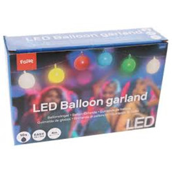 Guirlande Ballons Led Multicolore