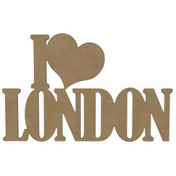 I Love London 58Cm