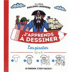 J'apprends à dessiner « les pirates »