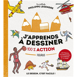 J'apprends à dessiner «100 % action»