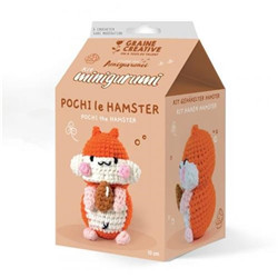 Kit amigurumi hamster 100 mm