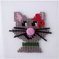 "Kit broderie chat ""kathy"""