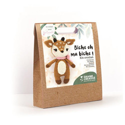 Kit crochet biche 170 mm