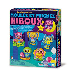 Kit de moulage : hiboux phosphorescent