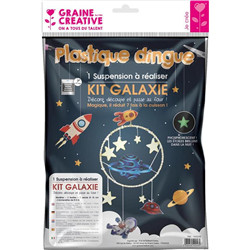 Kit plastique dingue suspension galaxi