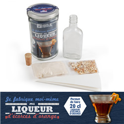 Liqueur d'orange BIO - Bocal 1L