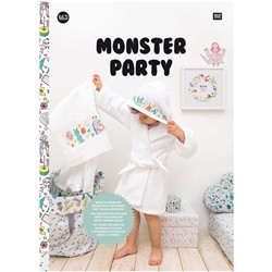 Livre broderie monster party (n°163)