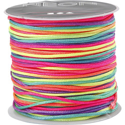 Macramé cord multicolore 28m 1mm