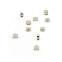 Magnet Steely -10 Pcs - Silver