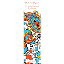 Marque-pages mandalas