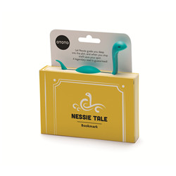 Marque-pages Nessie turquoise