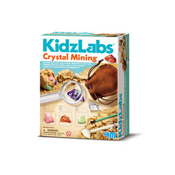 Mine des cristaux – Crystal mining