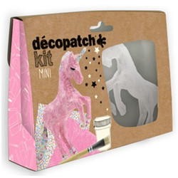 Mini coffret decopatch licorne