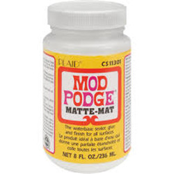 Mod Podge 236Ml 8 Oz. Mat