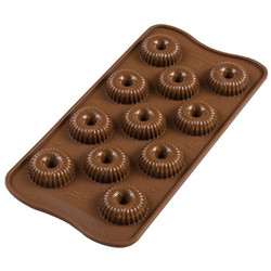Moule chocolat 3D silicone « Couronne »
