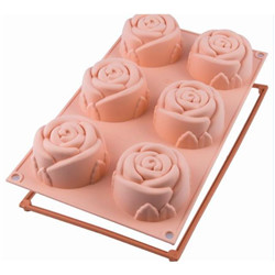 Moule silicone « Rose »