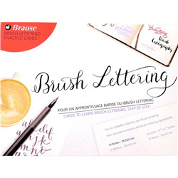 Papier Brush Lettering Brause