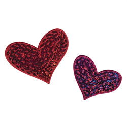 "Patch ""hearts"""