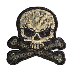 "Patch ""skull and bones"""