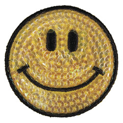 "Patch ""smile"", 5cm ø"