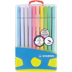 Pen 68 pastelparade 20 pcs