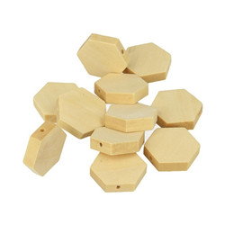 Perle hexagonale 20x3mm 15 pcs
